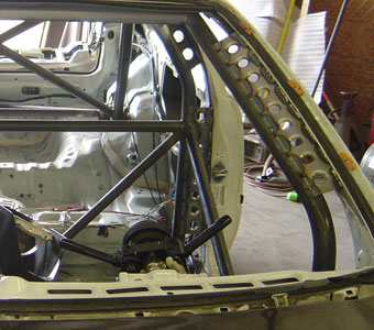 roll cage gusset